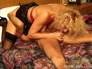 Giltf - Sext Blonde GILF Hardcore Action