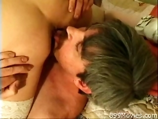 Giltf - Sexy Blonde Gilf Get's The Job Done