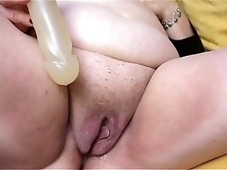 Chubby Shaved And Masturbated
