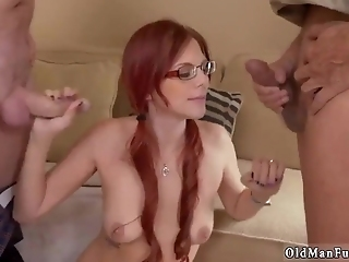 Huge Old Tits And Granny Fingers Her Ass Frannkie And The Gang Take A