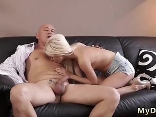 Old Blonde Granny Horny Ash-blonde Wants To Attempt Someone Little Bit