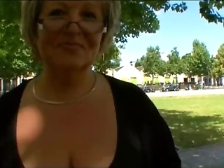 Carole, French Bbw Granny Analfucked