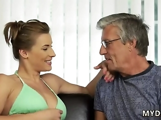 Old Granny Masturbation Sex With Her Boyplayfellow´s Father After