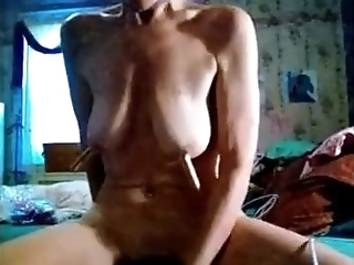 Saggy Tits Joanna 55 In Kinky Solo