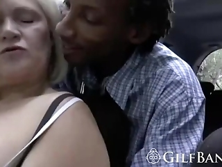 Ultimate Blonde Gilf Has Some Epic Cock Finishing Skills