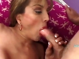 Voluptuous Granny Likes To Feel That Huge Johnson Go Deep