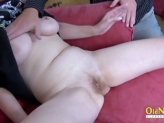 Oldnany Mature Vlasta Enjoys Threesome Footage