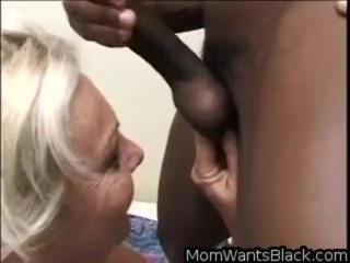 Sexy Mature With Big Tits And Hairy Pussy Fucks A Big Black Cock