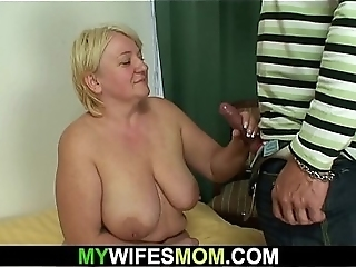Taboo Sex With Busty Old Mother-in-law