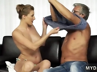 Little Old Granny Sex With Her Boyassociate´s Father After Swimming Pool