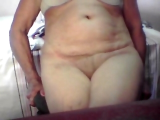New Lovely Granny 70 Years Old Showing Her Pussy!!!!