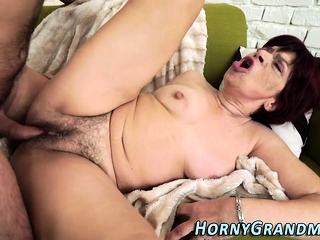 Grandmas Hairy Vag Tasted