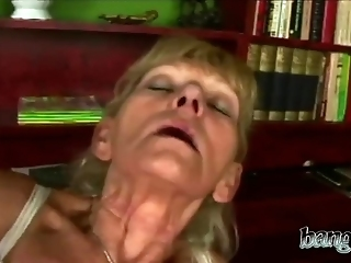 Hairy Granny Gets Down For A Dirty Fucking