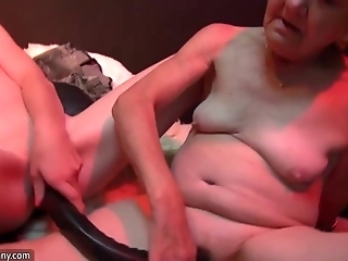 Oldnanny Granny Mature Masturbate And Licking